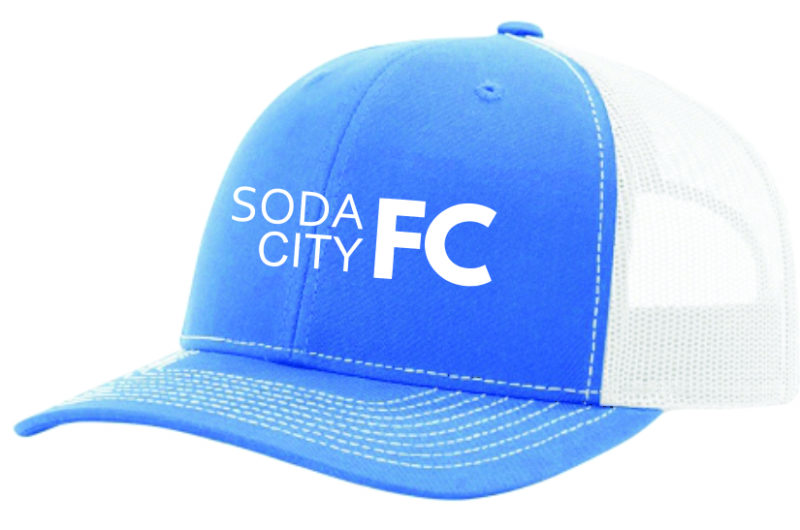 soda city fc blue hat