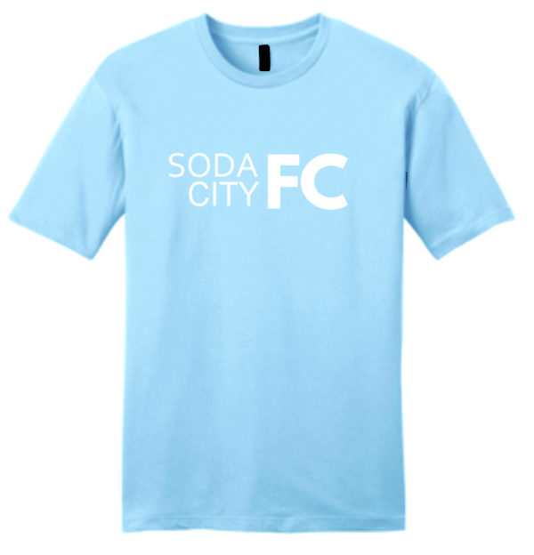 soda city fc supporter shirt sky blue