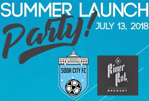 soda city fc launch party july 13 2018