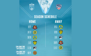 Soda City FC 2018 Match Schedule 2
