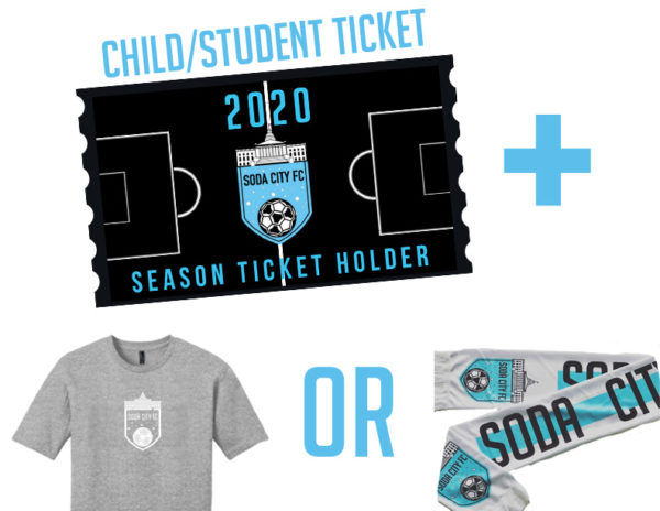 child or student ticket