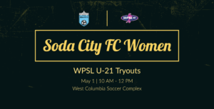 tryouts for SCFCs first WPSL U21 team